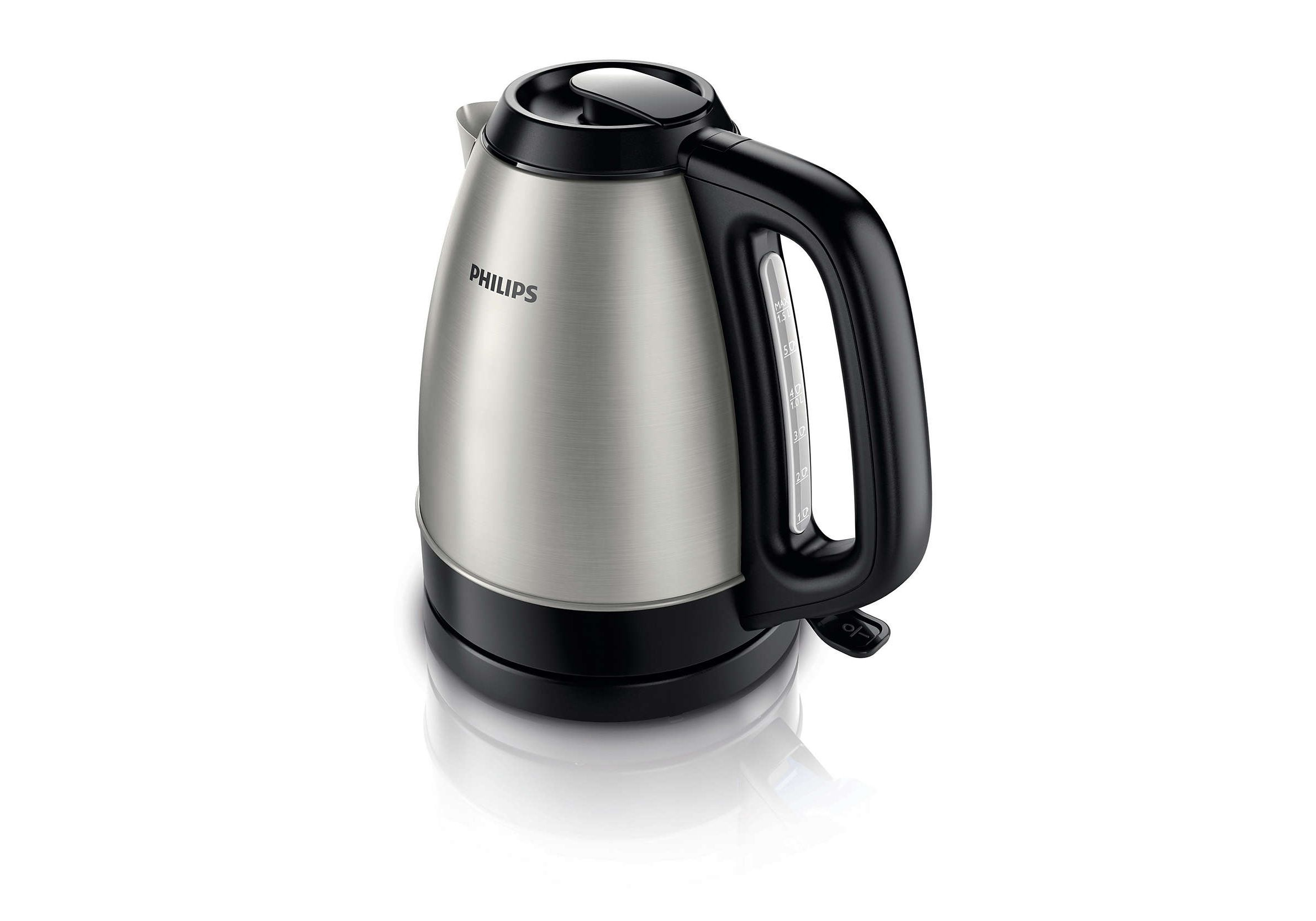 Brand NEW best Philips HD9305//21 Kettle 2200W 1.5L Stainless Steel brushed black