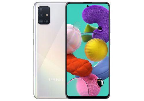 Samsung Galaxy A51, Dual Sim, 128GB, 6.5 inches, Octa-core, 8GB, 48MP  - White, image 1