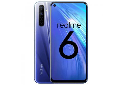 Realme 6, Dual Sim, 64GB, 4GB, 6.5 inches, 64MP, image 1