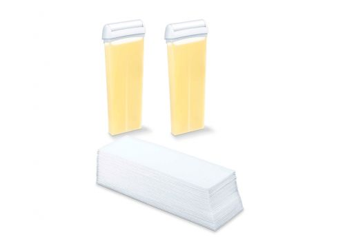 Beurer HL 40 Spare set: 2 x beeswax cartridges, 50 fabric strips, image 1