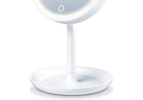 Beurer BS 45 illuminated cosmetics mirror,LED light, Touch sensor, 5x magnification,dimmer function,storage tray, image 3