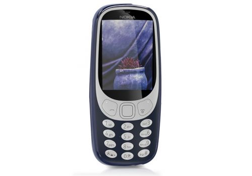 Nokia 3310 SS,  16 MB 2.4 Inches, 2G Dark Blue, image 3