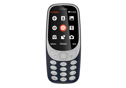 Nokia 3310 SS,  16 MB 2.4 Inches, 2G Dark Blue, image 4