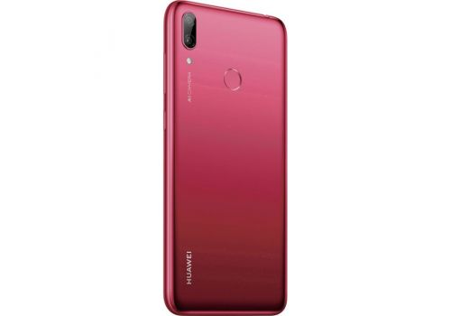 Huawei Y7 (2019), Dual Sim, Octa-core, 6.26 inches, 32GB, 13 MP, Coral Red, image 4