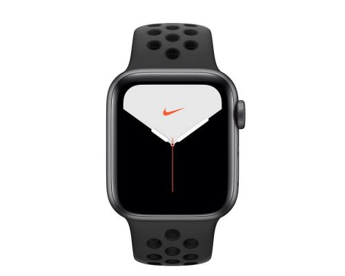 Apple Watch Nike Series 5 GPS, 44mm Space Grey Aluminium Case with Anthracite/Black Nike Sport Band, image 1