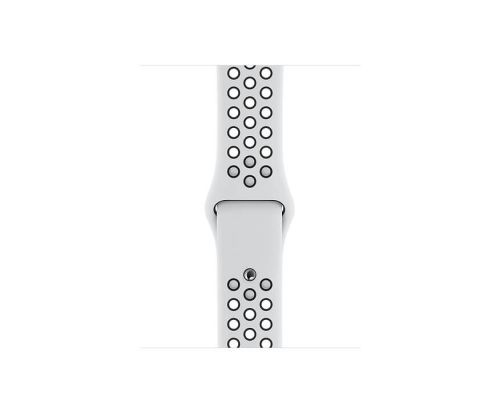 Apple Watch Nike Series 5 GPS, 40mm Silver Aluminium Case with Pure Platinum/Black Nike Sport Band, image 4