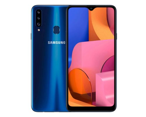 Samsung Galaxy A20s, Dual Sim, 32GB, 6.5 inches, Octa-core, 3GB, 13+8MP, Blue, image 3
